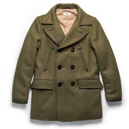 The Mendocino Peacoat in British Army