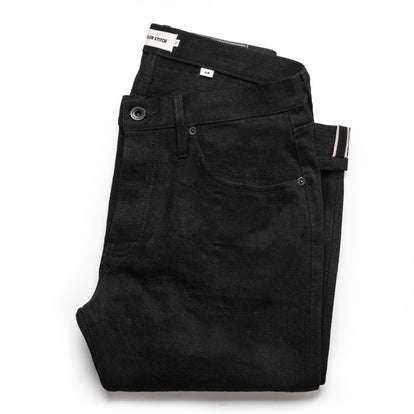 The Slim Jean in Black Selvage