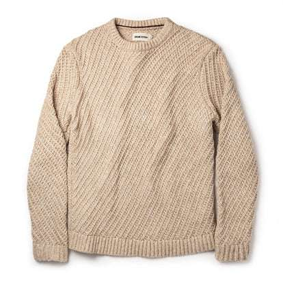The Adirondack Sweater in Natural
