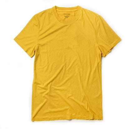The Cotton Hemp Tee in Gold