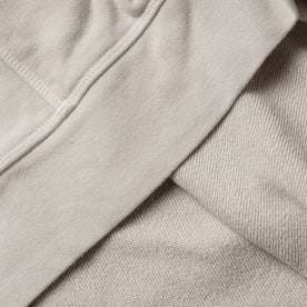 material shot of fabric interior and exterior