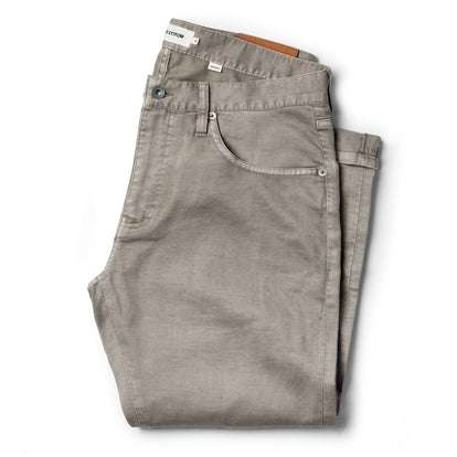 The Democratic All Day Pant in Aluminum Bedford Cord