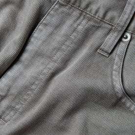 material shot near pocket