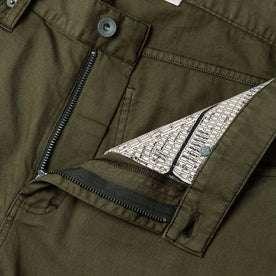 material shot of pocket