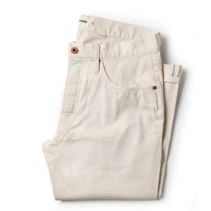 The Democratic Jean in Natural Organic Selvage