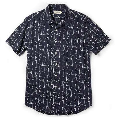 The Short Sleeve Hawthorne in Dark Navy Seagull