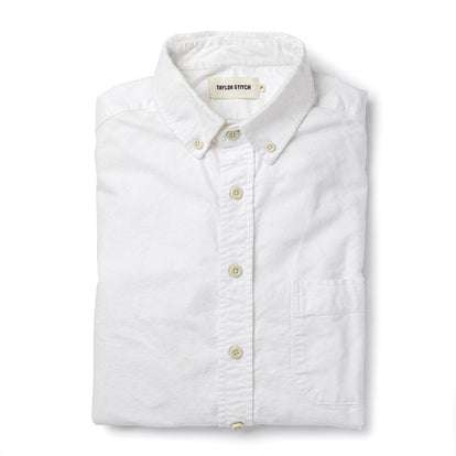 The Jack in White Everyday Oxford