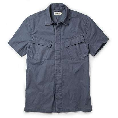 The Jungle Shirt in Ocean