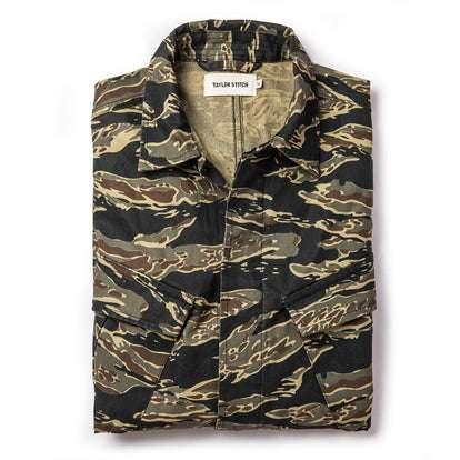 The Jungle Shirt in Tiger Camo