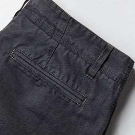 material shot of back pocket