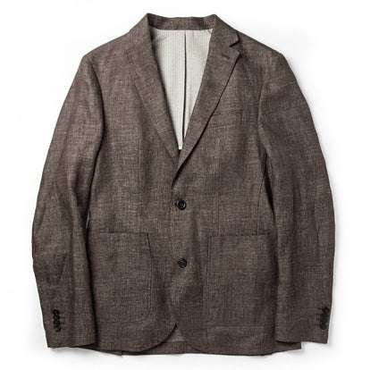 The Sheffield Sportcoat in Cocoa Linen