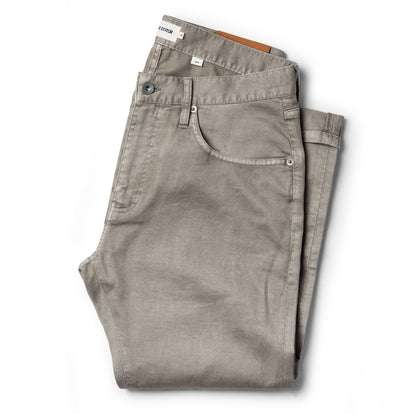 The Slim All Day Pant in Aluminum Bedford Cord