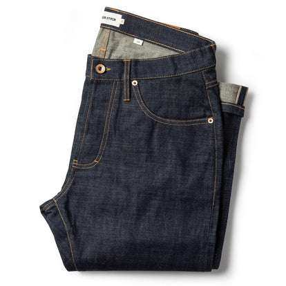 The Slim Jean in Organic Selvage