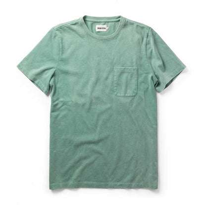 The Heavy Bag Tee in Dusty Teal