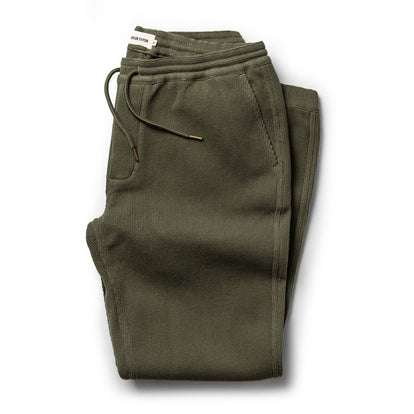 The Après Pant in Army Waffle