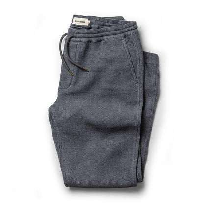 The Après Pant in Charcoal Waffle