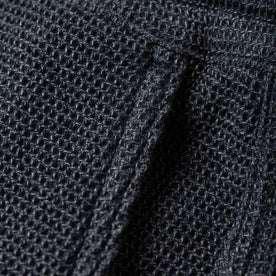 material shot of pocket detail