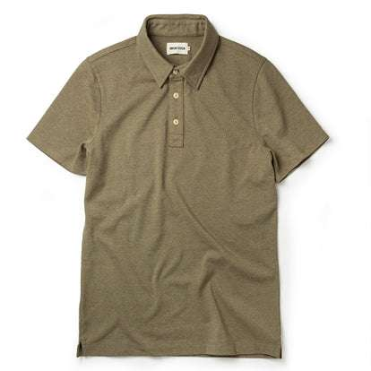 The Heavy Bag Polo in Olive