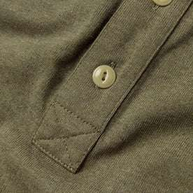 The Heavy Bag Polo in Olive: Alternate Image 5