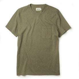 The Heavy Bag Tee in Olive: Featured Image