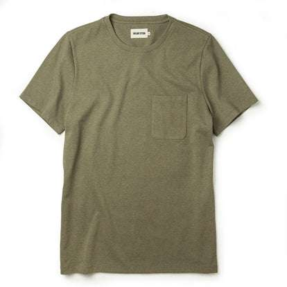 The Heavy Bag Tee in Olive