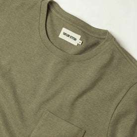 The Heavy Bag Tee in Olive: Alternate Image 4