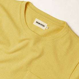 The Heavy Bag Tee in Straw: Alternate Image 4