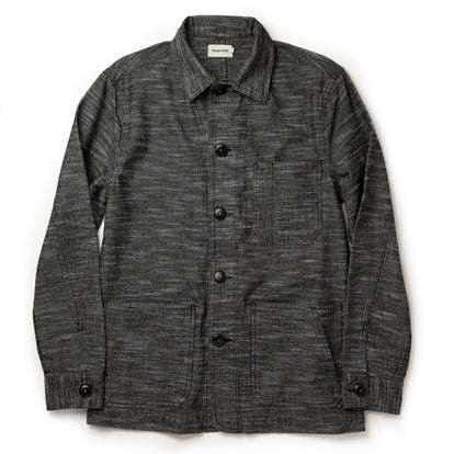 The Ojai Jacket in Black Cross Dye