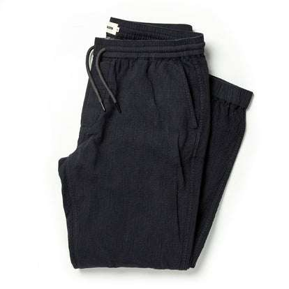 The Après Pant in Coal Double Cloth