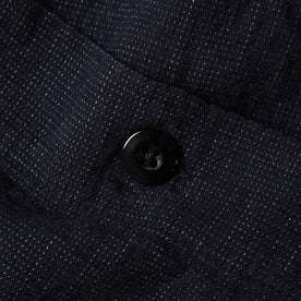 material shot of button