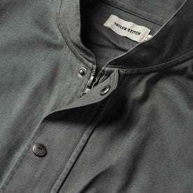 The Bomber Jacket in Washed Slate Herringbone: Alternate Image 6