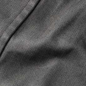The Bomber Jacket in Washed Slate Herringbone: Alternate Image 7