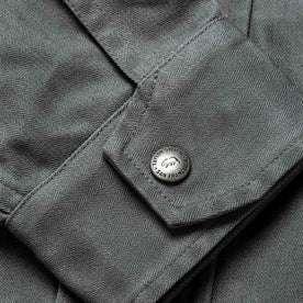 The Bomber Jacket in Washed Slate Herringbone: Alternate Image 9