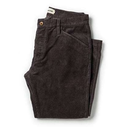 The Camp Pant in Charcoal Corduroy