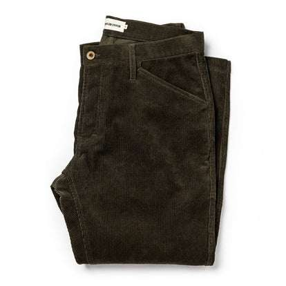 The Camp Pant in Olive Corduroy