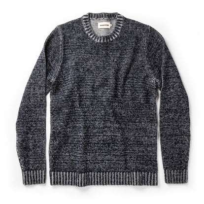 The Headland Sweater in Marled Navy
