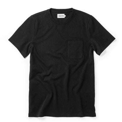 The Heavy Bag Tee in Black