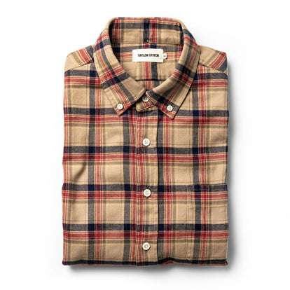 The Jack in Brushed Khaki Plaid