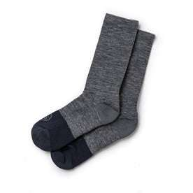 The Merino Sock in Charcoal: Featured Image