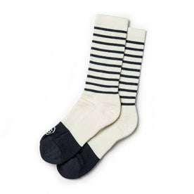 The Merino Sock in Natural Stripe: Featured Image