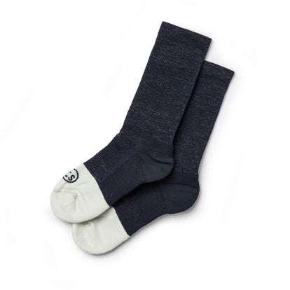 The Merino Sock in Navy