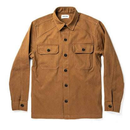 The Shop Shirt in British Khaki Boss Duck