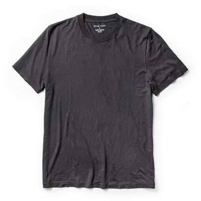 The Standard Issue Tee in Charcoal Hemp