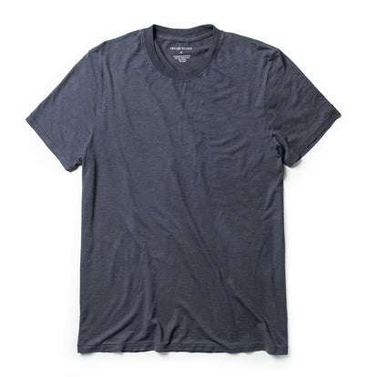 The Standard Issue Tee in Navy Hemp