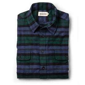 The Yosemite Shirt in Blackwatch Plaid: Featured Image