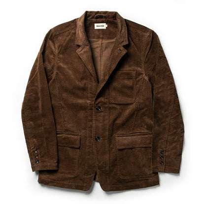 The Gibson Jacket in Chocolate Cord