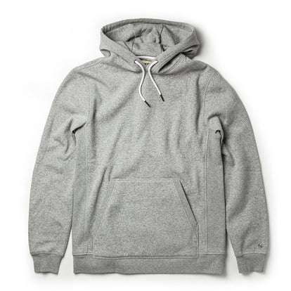 The Heavy Bag Hoodie in Heather Grey Fleece
