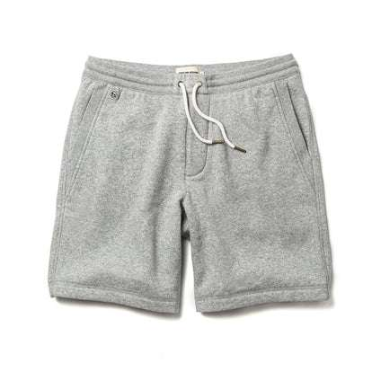 The Heavy Bag Short in Heather Grey Fleece