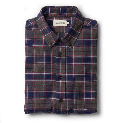 The Jack in Brushed Grey Plaid