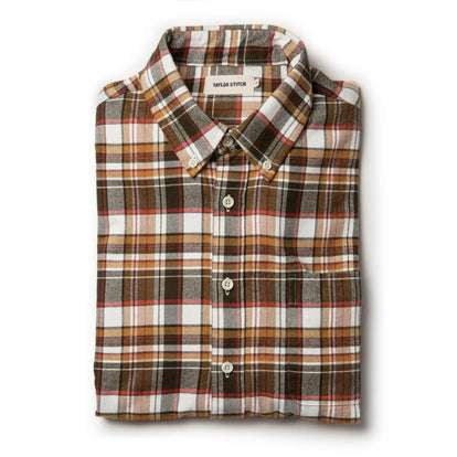 The Jack in Brushed Wheat Plaid
